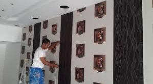 صورة ورق جدران للمجالس , اشكال جديده و حديثه لورق الحائط لديكور المجالس