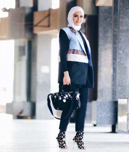 بالصور موديلات حجابات جزائرية مخيطة , افضل صور لمحجبات 5773 2