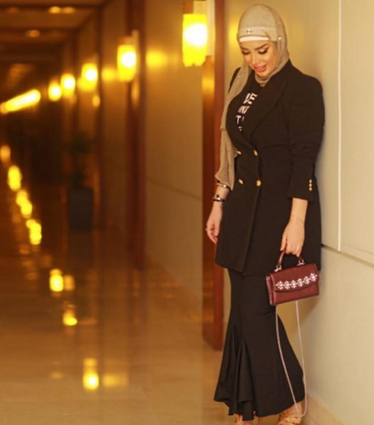 بالصور موديلات حجابات جزائرية مخيطة , افضل صور لمحجبات 5773 3