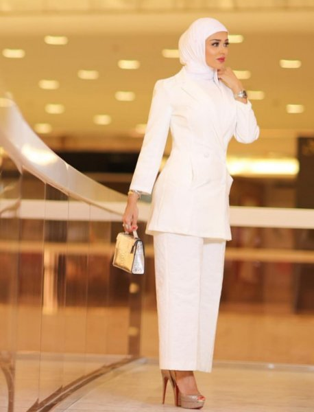 بالصور موديلات حجابات جزائرية مخيطة , افضل صور لمحجبات 5773 7