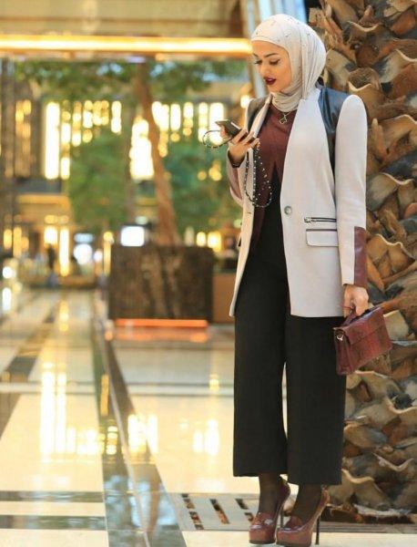 بالصور موديلات حجابات جزائرية مخيطة , افضل صور لمحجبات 5773 8