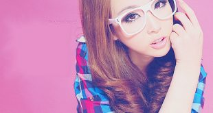 صورة بنات كوريات كيوت بالنظارات , اجمل وارق البنات فى كوريا