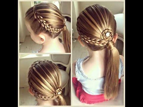 بالصور تسريحات شعر للاطفال , اجمل فورم الشعر للقمرات الصغار 6734 1