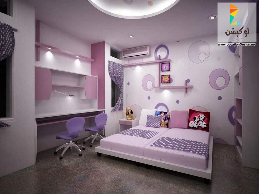 بالصور ديكورات غرف اطفال , احدث ديكورات غرف البنات 3693 1