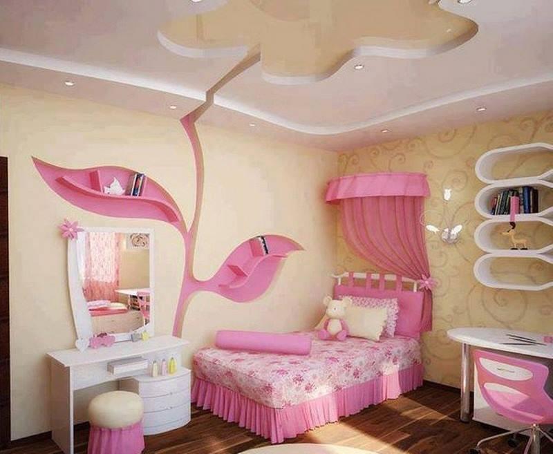 بالصور ديكورات غرف اطفال , احدث ديكورات غرف البنات 3693 9