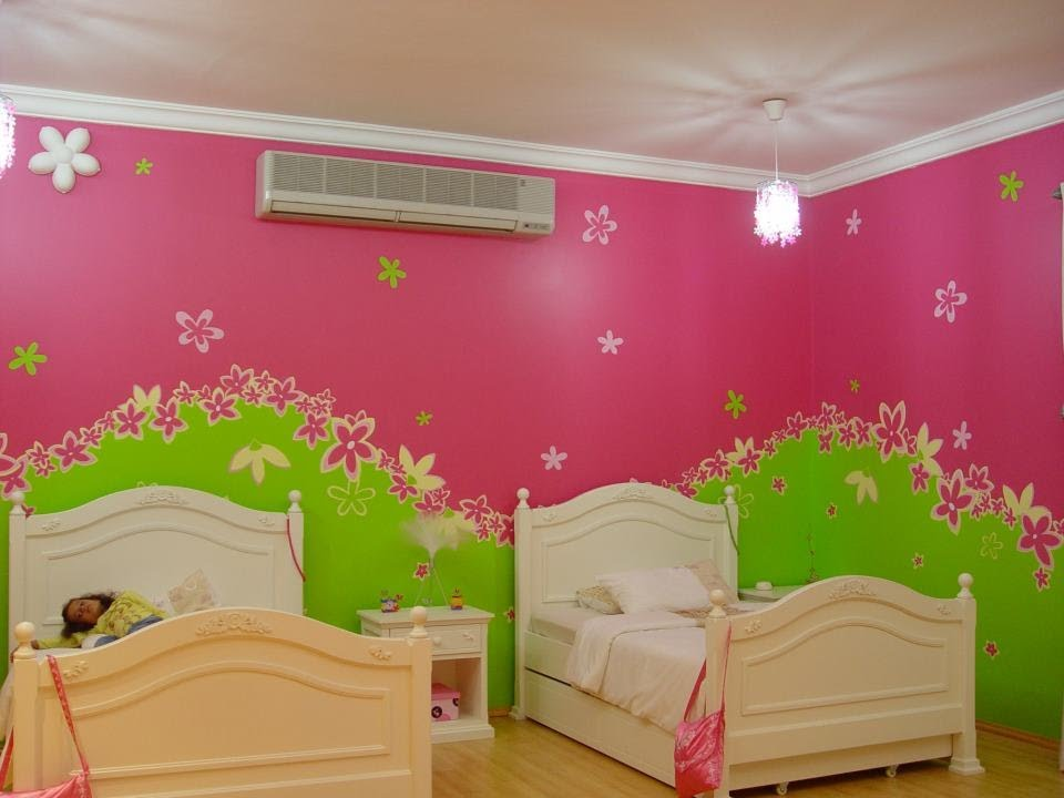 بالصور ديكور حوائط , صور ديكورات حوائط غرف الاطفال 3699 1