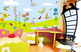 بالصور ديكور حوائط , صور ديكورات حوائط غرف الاطفال 3699 10