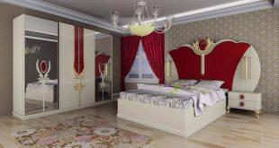 احدث موديلات غرف النوم , احدث صور غرف النوم للعرائس 2019