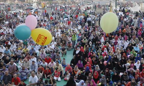 صورة صور عن لعيد , صورة بهجة العيد بمصر