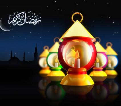 بالصور صور تهاني رمضان , تهنئة لرمضان بالصور 4239 1