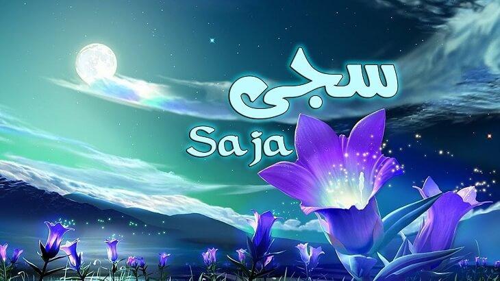 صور معنى اسم سجى , اسماء من الفاظ قرانية