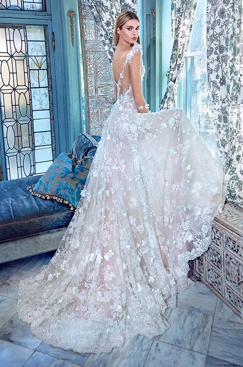 صورة فساتين زفاف فخمه , افخم واحدث فساتين زفاف
