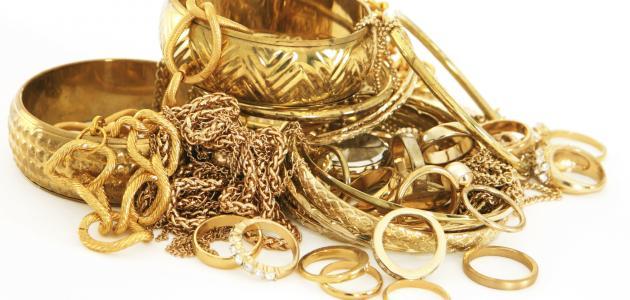 صورة تفسير الذهب في الحلم , رؤية الذهب في المنام