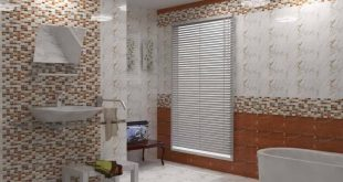 صور ديكور حمامات سيراميك , اجمل ديكورات حمامات