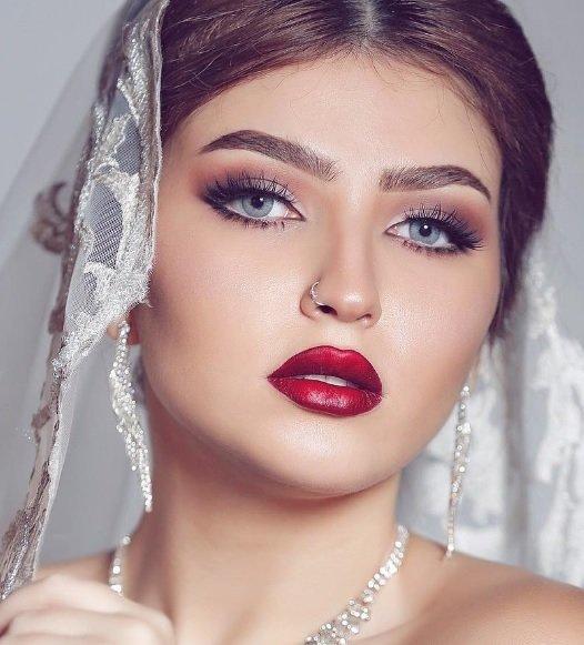 صور مكياج عروس , اجمل واحدث مكياج العروس - رمزيات