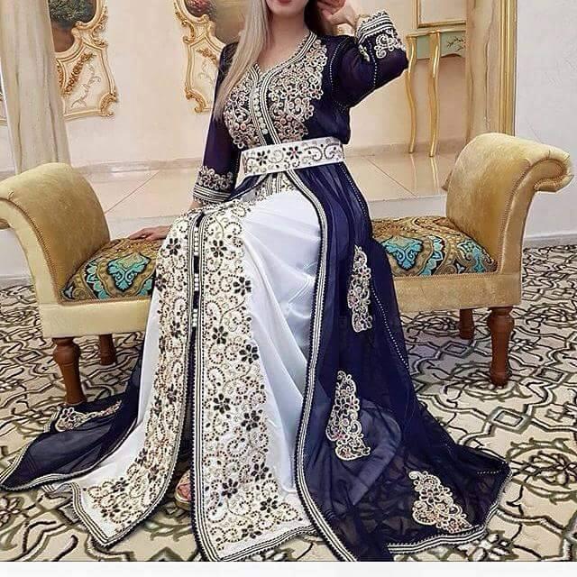 بالصور قفطان جزائري , لباس شعبى وتقليدى 1150 2