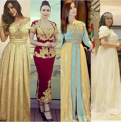 بالصور قفطان جزائري , لباس شعبى وتقليدى 1150 3