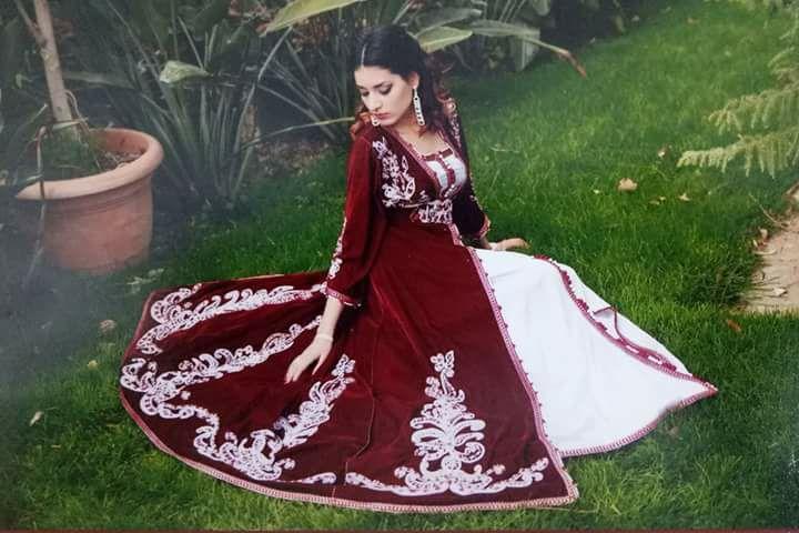 بالصور قفطان جزائري , لباس شعبى وتقليدى 1150 6