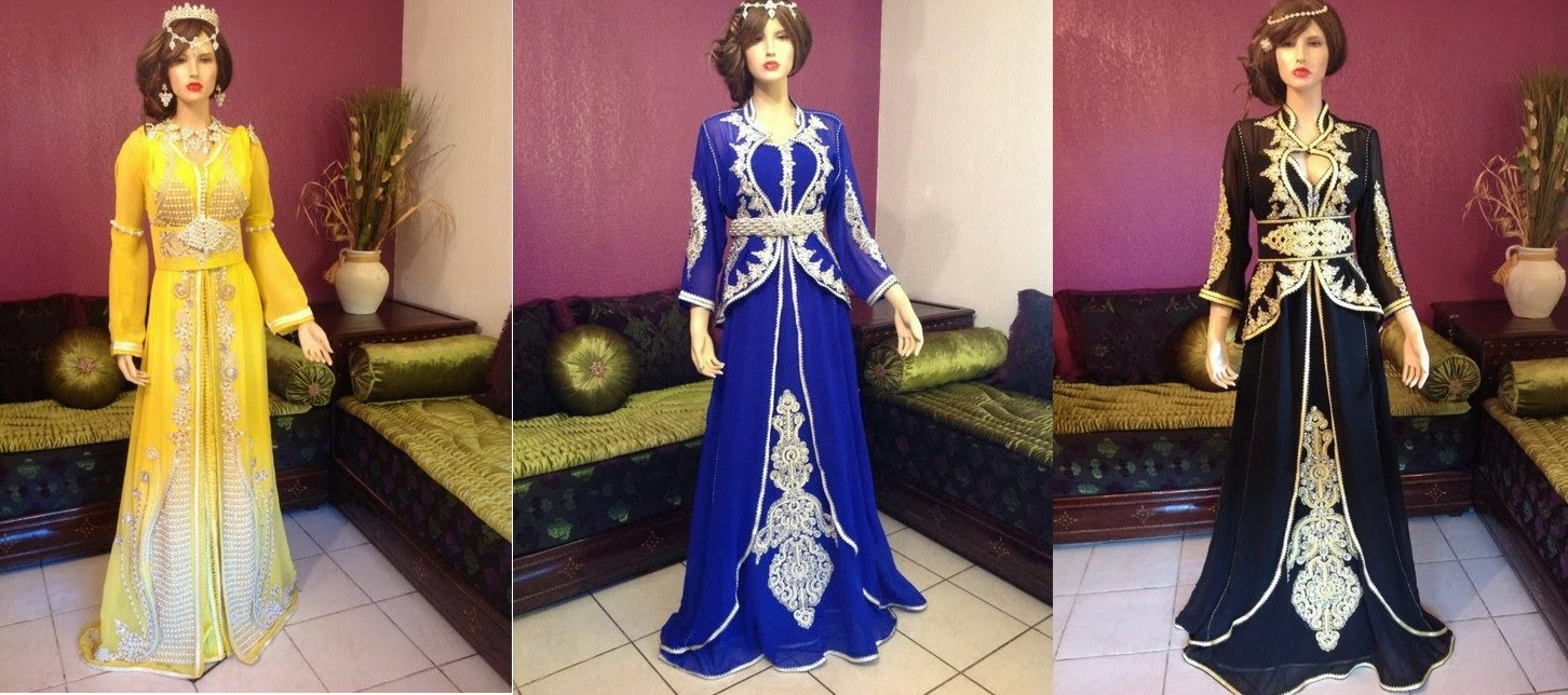 بالصور قفطان جزائري , لباس شعبى وتقليدى 1150 7
