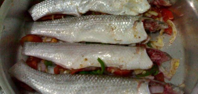 بالصور طريقة عمل السمك السنجارى , لطبخ السمك السنجارى 1185 1