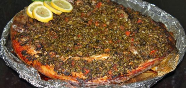 بالصور طريقة عمل السمك السنجارى , لطبخ السمك السنجارى 1185