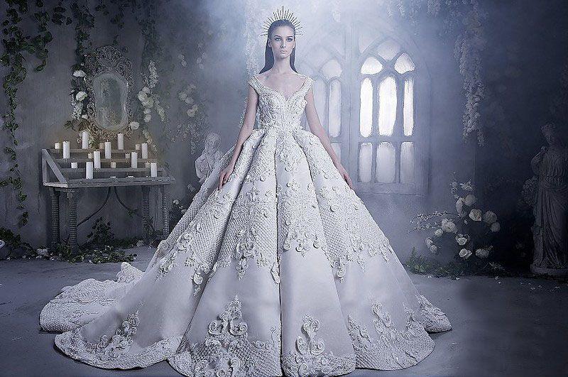 بالصور صور فساتين عروس , اجمل فساتين الاعراس 1194 4