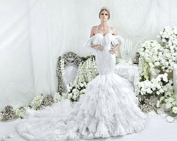 بالصور صور فساتين عروس , اجمل فساتين الاعراس 1194 7