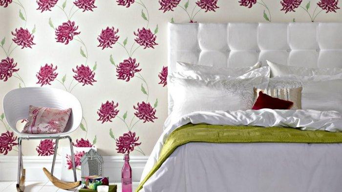 بالصور ورق جدران غرف نوم , اجمل اوراق جدران لغرف النوم 1690 11