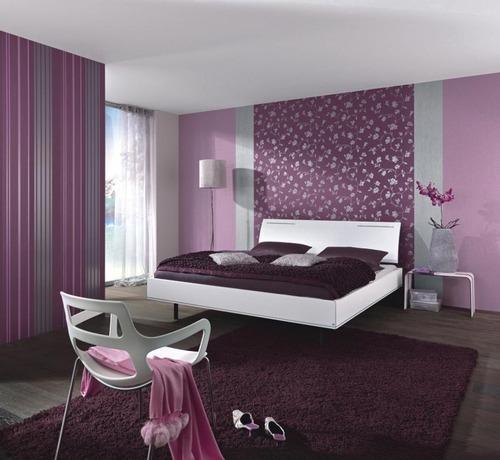بالصور ورق جدران غرف نوم , اجمل اوراق جدران لغرف النوم 1690 2