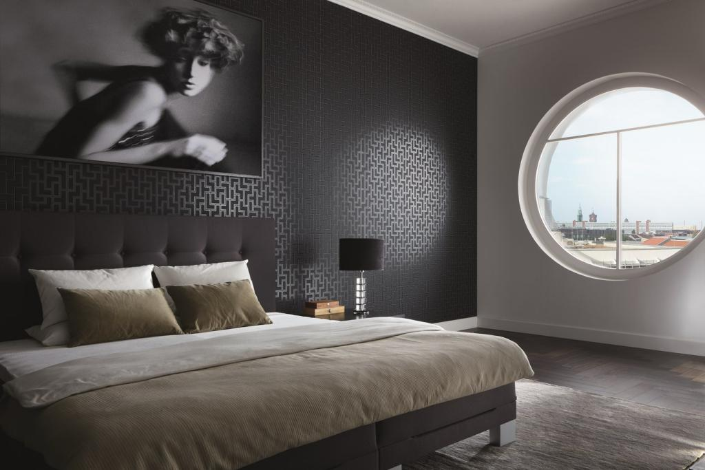 بالصور ورق جدران غرف نوم , اجمل اوراق جدران لغرف النوم 1690 7