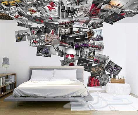 بالصور ورق جدران غرف نوم , اجمل اوراق جدران لغرف النوم 1690 8