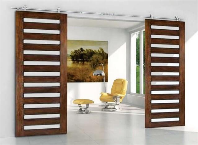 بالصور صور ابواب خشب , بعض الديكورات في الابواب الخشبيه 3201 8