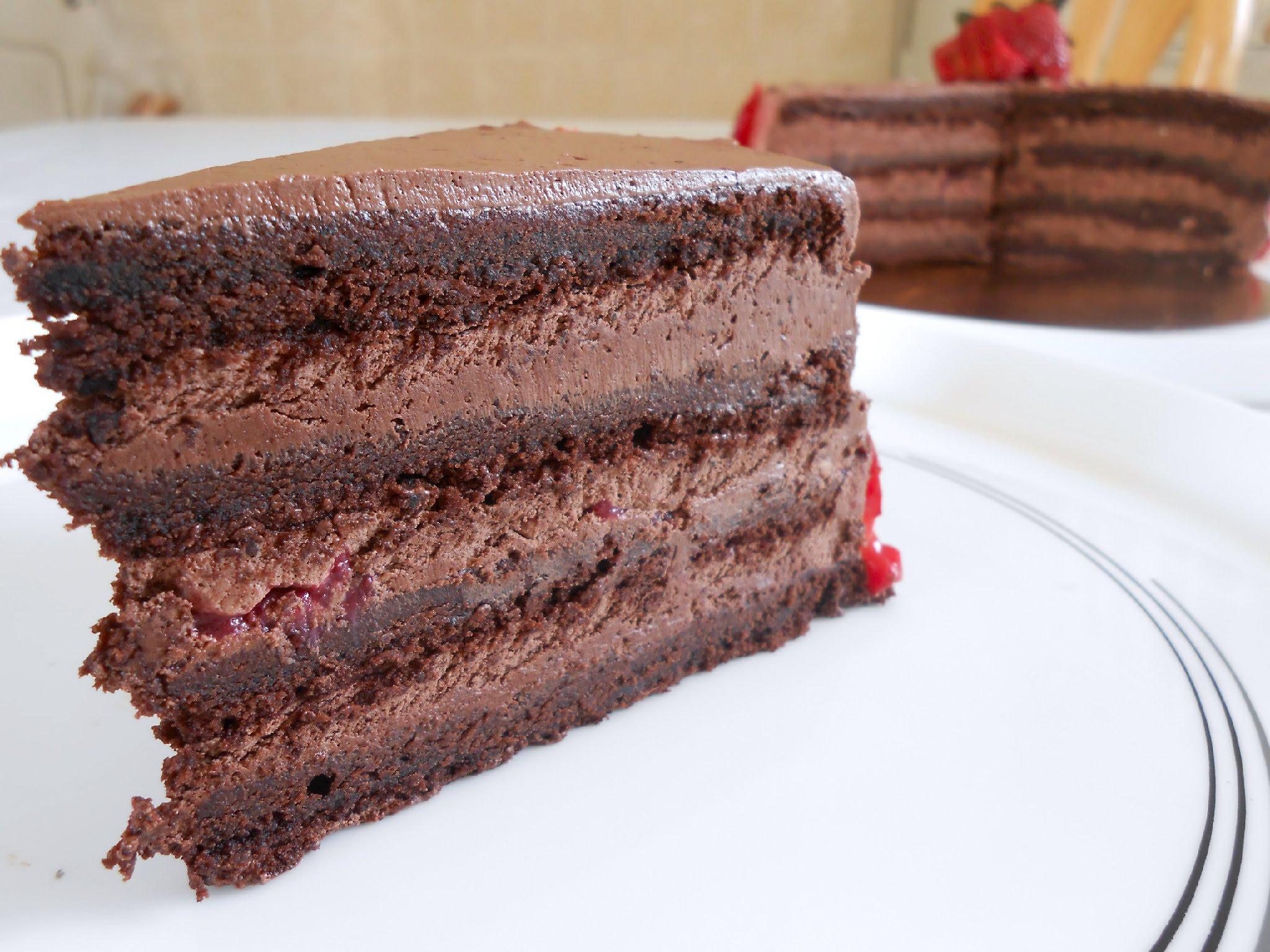 صور طريقة عمل الكيك بالشوكولاتة سهلة , اسهل كيك شيكولاتة