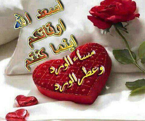 بالصور مساء الورد حبيبي , اجمل تحيات المساء 4436 9