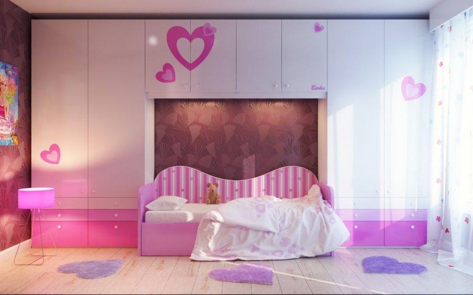 بالصور ديكور غرف نوم بنات , احدث ديكورات لغرف البنات 4509 7