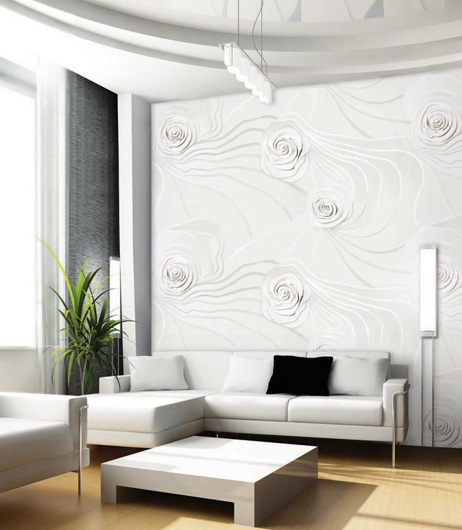 بالصور ورق جدران للمجالس , اشكال جديده و حديثه لورق الحائط لديكور المجالس 5244 3