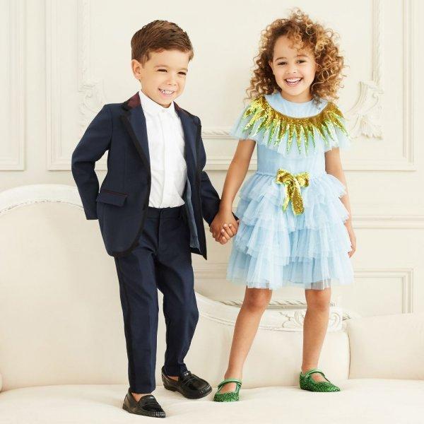صورة صور ملابس العيد , احدث موضة للاولاد والبنات لملابس عيد الاضحى 2019