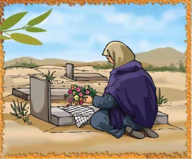 صورة حكم زيارة القبور , احكام زيارة القبر للرجال والسيدات