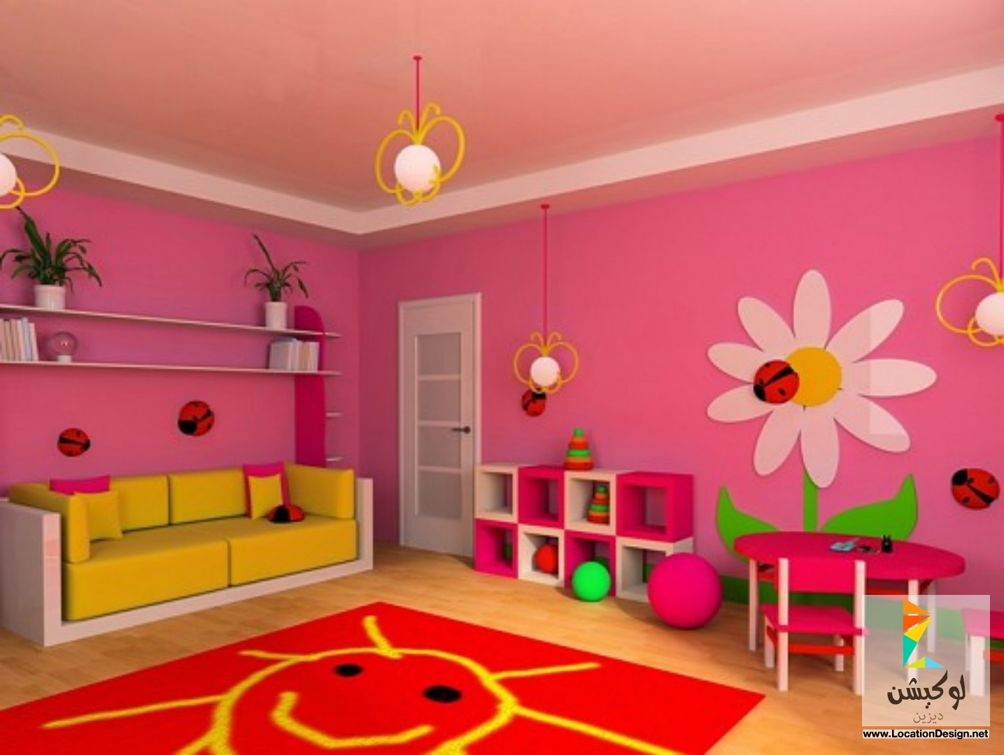 بالصور الوان غرف نوم اطفال , اجدد الوان وتصاميم غرفه نوم طفلك 151 1