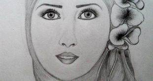 صور رسومات بنات جميلة , افضل رسم لبنت جميلة