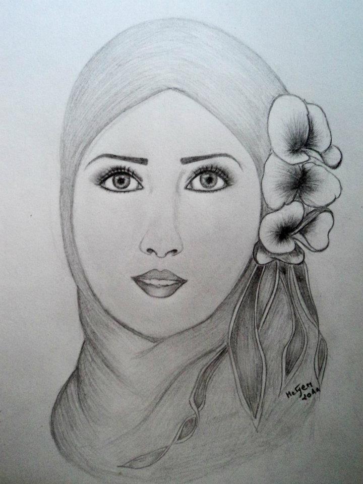 رسم بالرصاص لوحات جميلة للفنانة جنان حسين شنو رأيكم Facebook