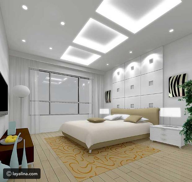 بالصور ديكورات جبس غرف نوم ناعمه , اجمل ديكور من الجبس لغرف النوم 2749 10