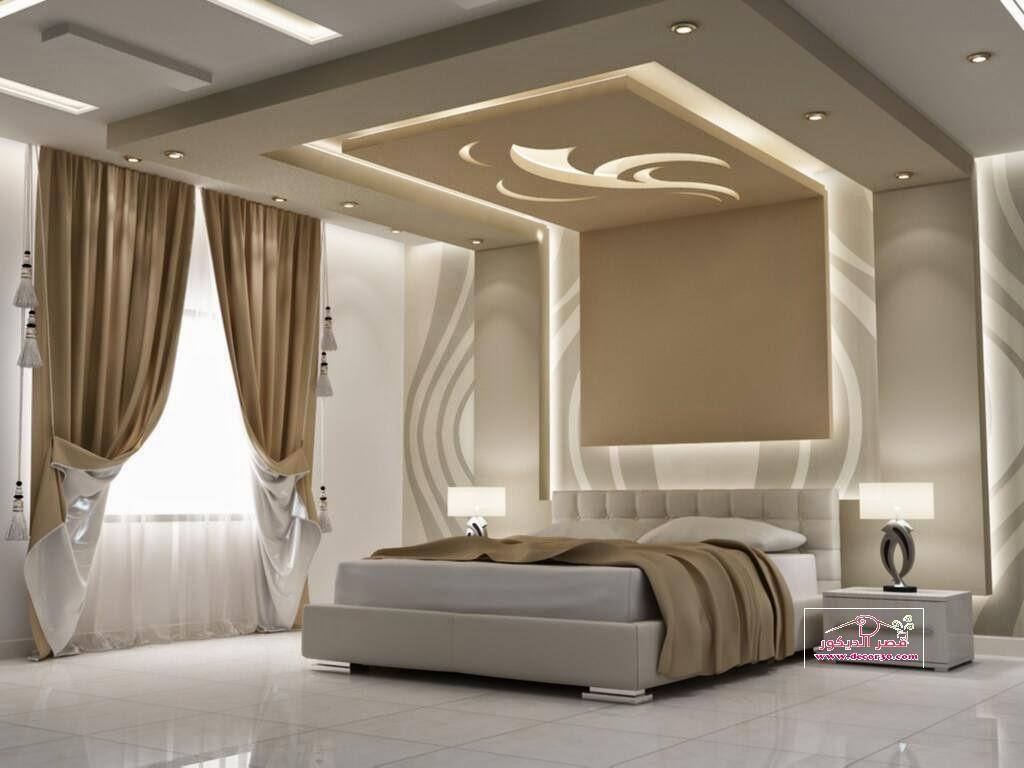 بالصور ديكورات جبس غرف نوم ناعمه , اجمل ديكور من الجبس لغرف النوم 2749 3