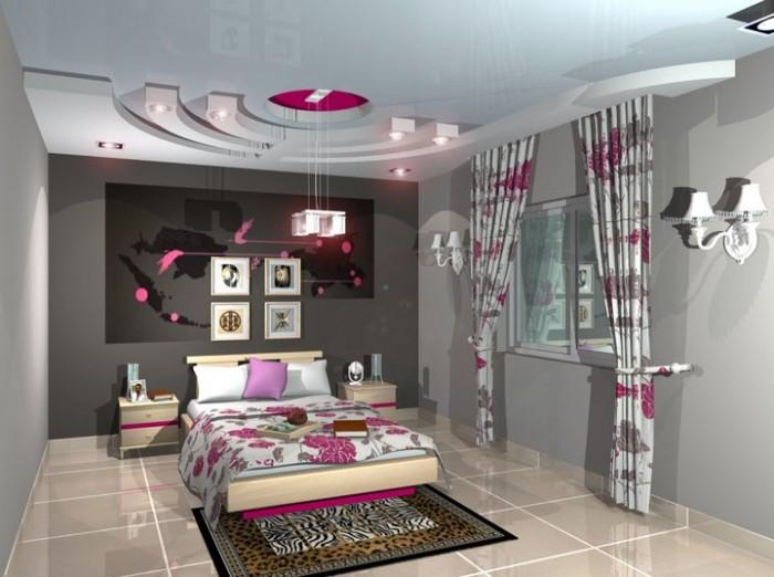 بالصور ديكورات جبس غرف نوم ناعمه , اجمل ديكور من الجبس لغرف النوم 2749 4