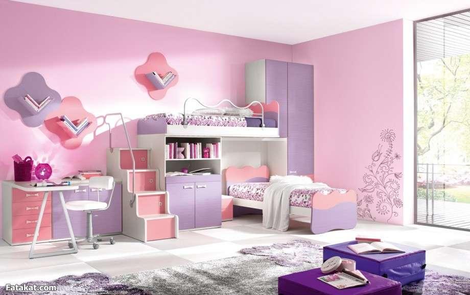 بالصور غرف نوم بنات اطفال , اوضة بنات صغيرين للنوم 2948 5