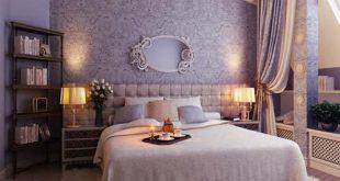 صور اصباغ غرف نوم , الوان جديدة لغرف النوم المودرن 2019