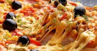 صور طريقة عمل البيتزا في البيت , وصفة لعمل البيتزا بطريقة سهلة جدا