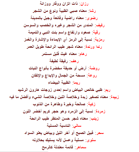 صور اجمل اسماء البنات , اسماء بنات حلوة وجديدة 2019