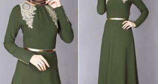 صور ملابس محجبات تركية , احدث موديلات ملابس نسائيه شيك