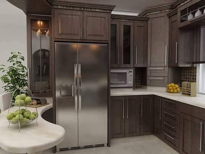 بالصور ديكور مطبخ , صممي مطبخك على ذوقك انتي وزوجك 5276 8